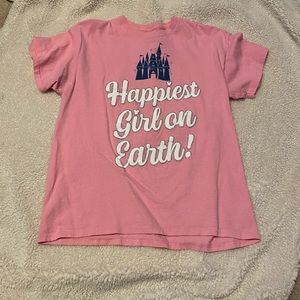 Girls Disneyland Shirt